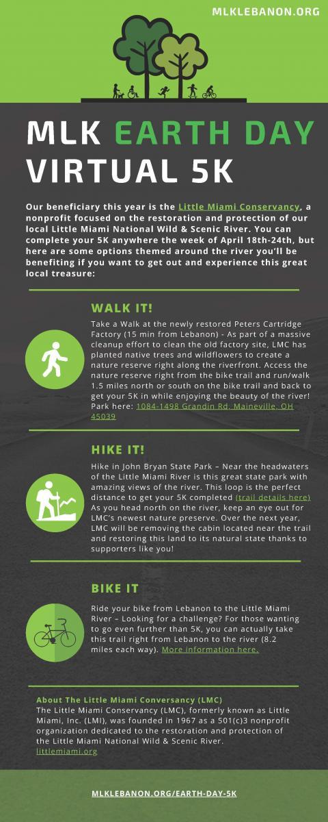 MLK Graphic Walk Hike and Bike